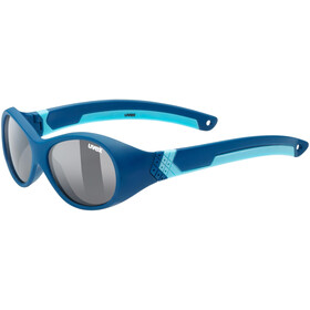 UVEX Sportstyle 510 Glasses Kids, darkblue/smoke